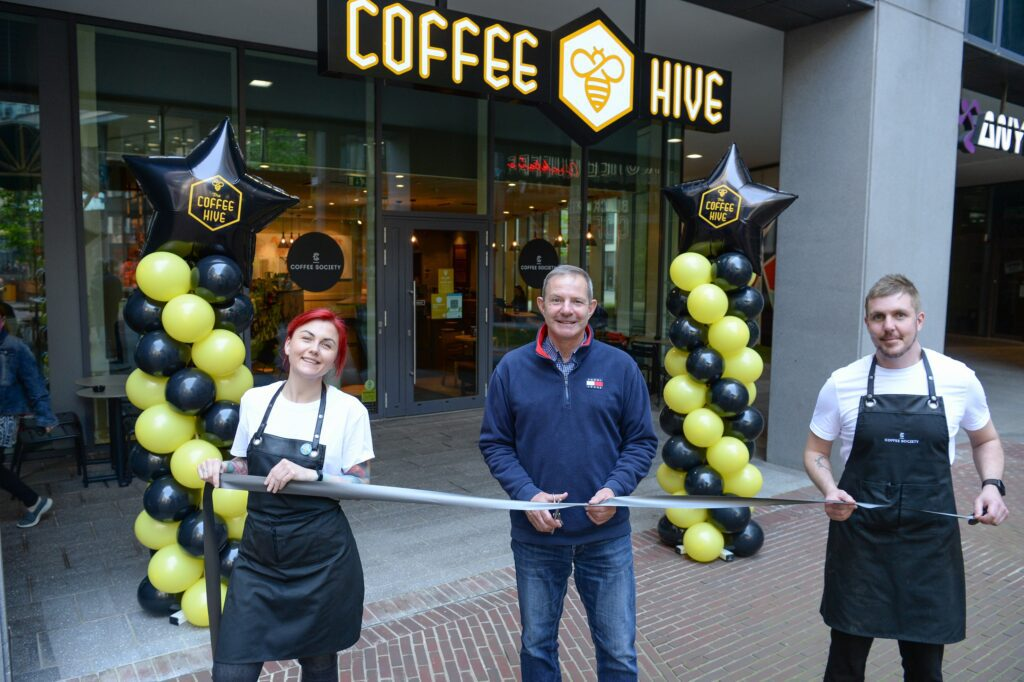 The Coffee Hive Launch